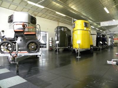 Weijer showroom paardentrailers