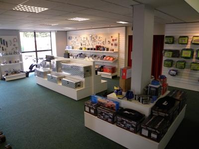 Weijer showroom accessoires en onderdelen