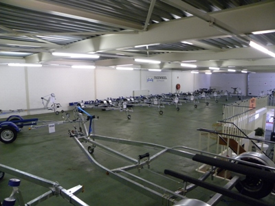 Weijer showroom Freewheel en Sunway boottrailers