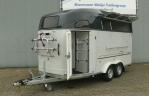 driepaards trailer