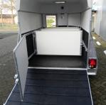 inrichting trailer minipaard