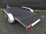Weijer tandemas aggregaat chassis met vloer.