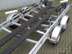 luchtgeremde boottrailer