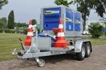 aanhangwagen vuilwaterpomp