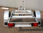 Weijer enkelas aggregaat chassis zonder vloer.