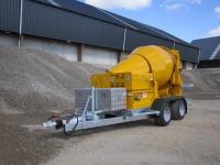 Aanhangwagens betonpompen