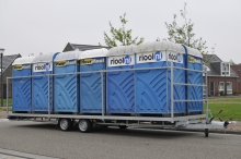 Weijer WP Tandem voor losse toiletunits