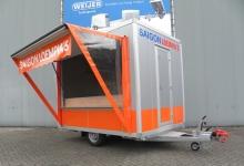 Humbaur verkoopwagen loempia's