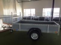 ACTIE Ongeremde bakwagen 257x132cm EA
