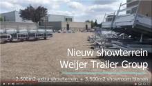 Nieuw extra showterrein Weijer Trailer Group