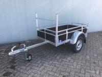 Actie enkelas aanhangwagen 175x100cm