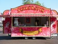 Onderstel voor suikerspin aanhangwagen