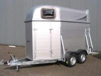 Weijer Traveller 2 paards aluminium uitvoering