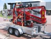 Weijer WPH hoogwerker transporter 2500kg 300x136cm