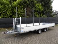 Weijer speciaalbouw plateauwagen met rongpalen