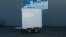 Gesloten plateauwagen voor touringcar